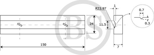 Ceramic Backing Plank - Specification